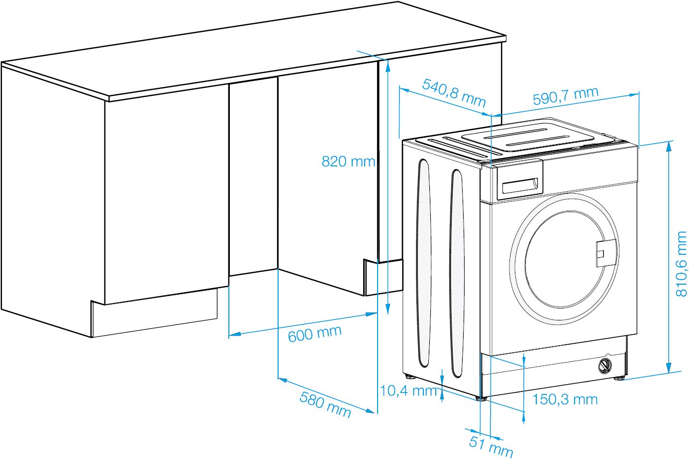 Схема подключения стиральной и сушильной машины6